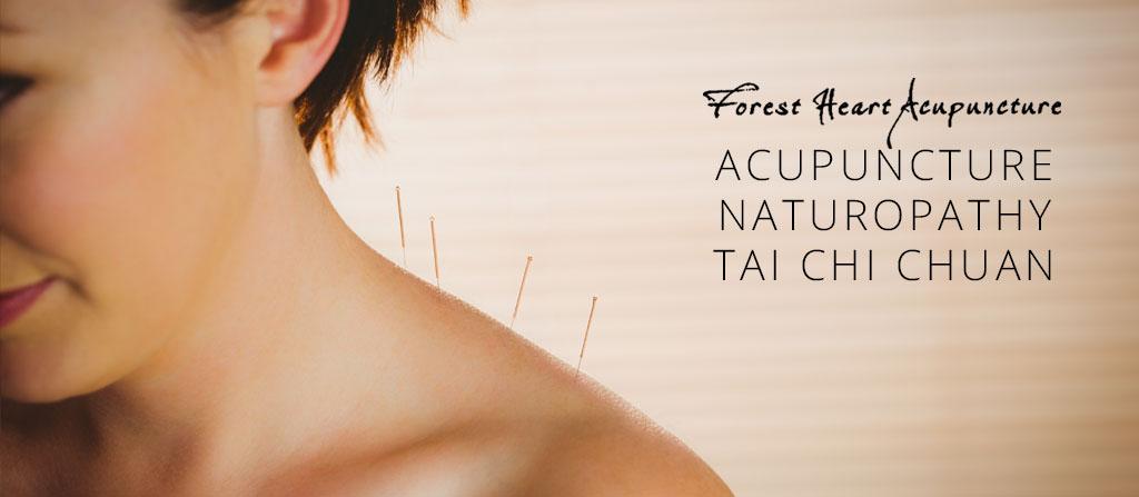 Acupuncture, naturopathy, tai chi chuan